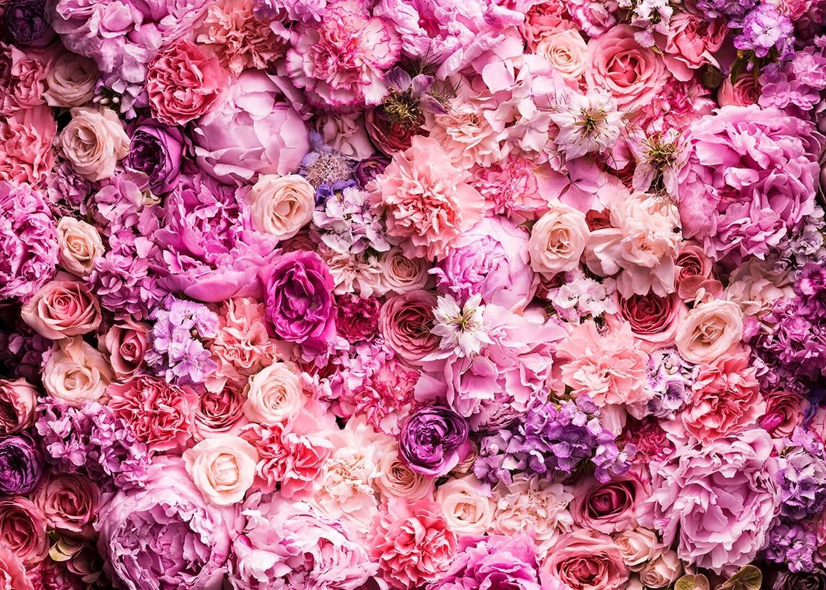 Фон для макияжа цветы