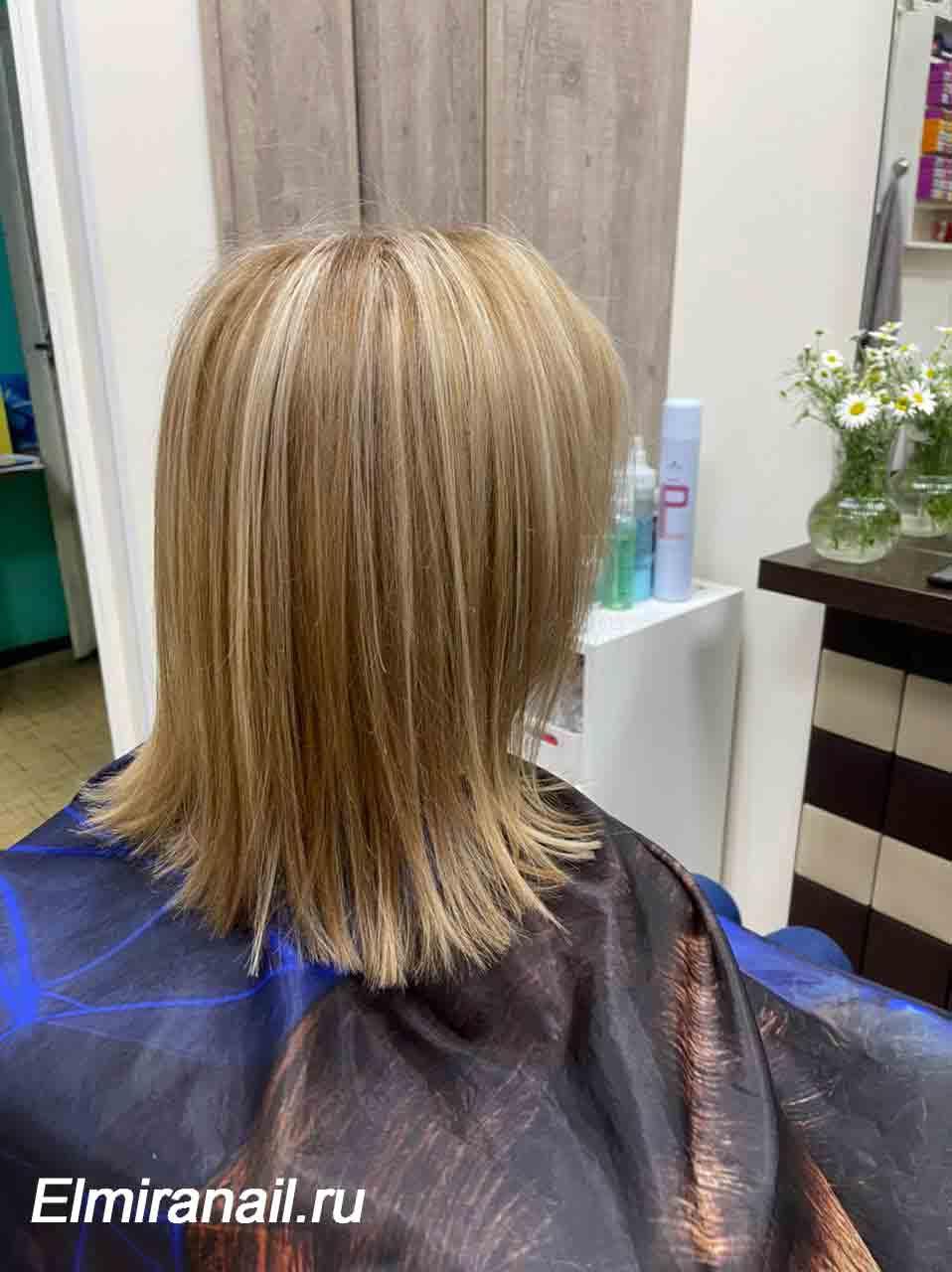 Окрашивание волос в Солнцево и стрижка
