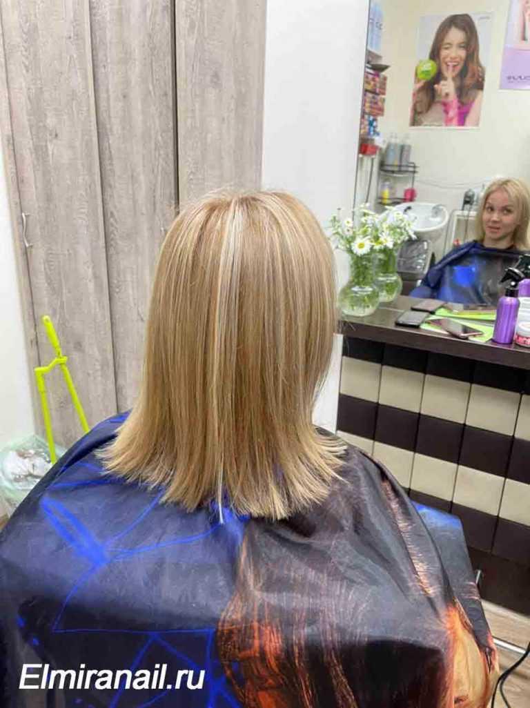 Окрашивание волос в Солнцево мелирование