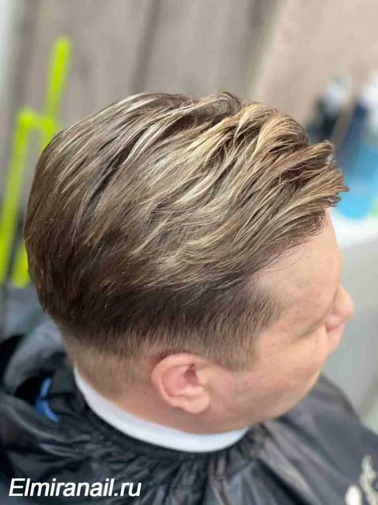 Стрижка в Солнцево мелирование волос
